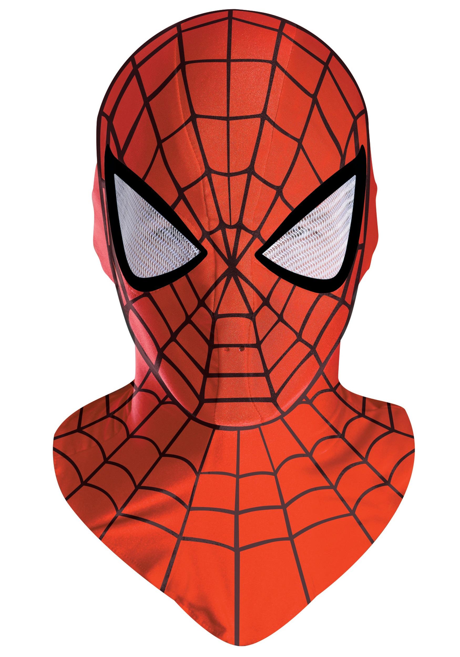 Как своими руками сделать маску человека паука