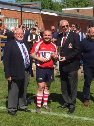 Birmingham Civil Service lift North Midlands Vase Cup | The Solihull